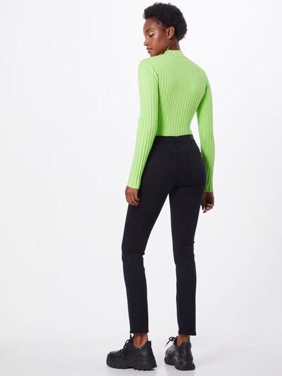 Džinsai 'Prima' iš AG Jeans , spalva - juoda: Vaizdas iš galinės pusės