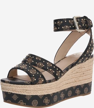 GUESS Sandale 'LATANYE2' in braun, Produktansicht