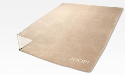 JOOP! Wohndecke »Doubleface«, in zweifarbigen Design in creme / sand / hellbeige, Produktansicht