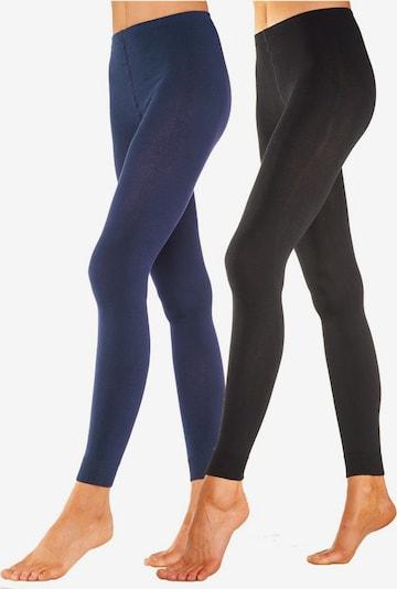 ROGO Leggings in blau / schwarz, Produktansicht