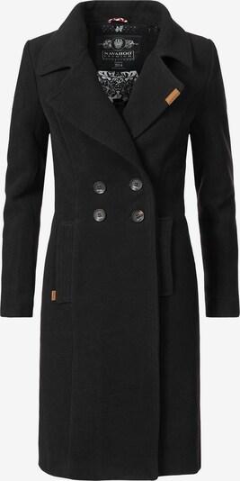NAVAHOO Wintermantel 'Wooly' in schwarz, Produktansicht
