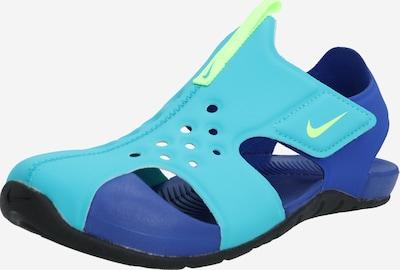 kék / türkiz Nike Sportswear Strandcipő, Termék nézet