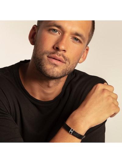 Thomas Sabo Armband in schwarz: Frontalansicht