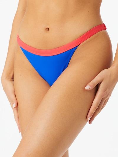 Slip costum de baie TOMMY HILFIGER pe albastru royal / roz / alb, Vizualizare model