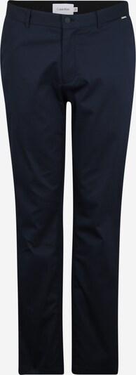 Calvin Klein Pantalon chino en bleu foncé, Vue avec produit