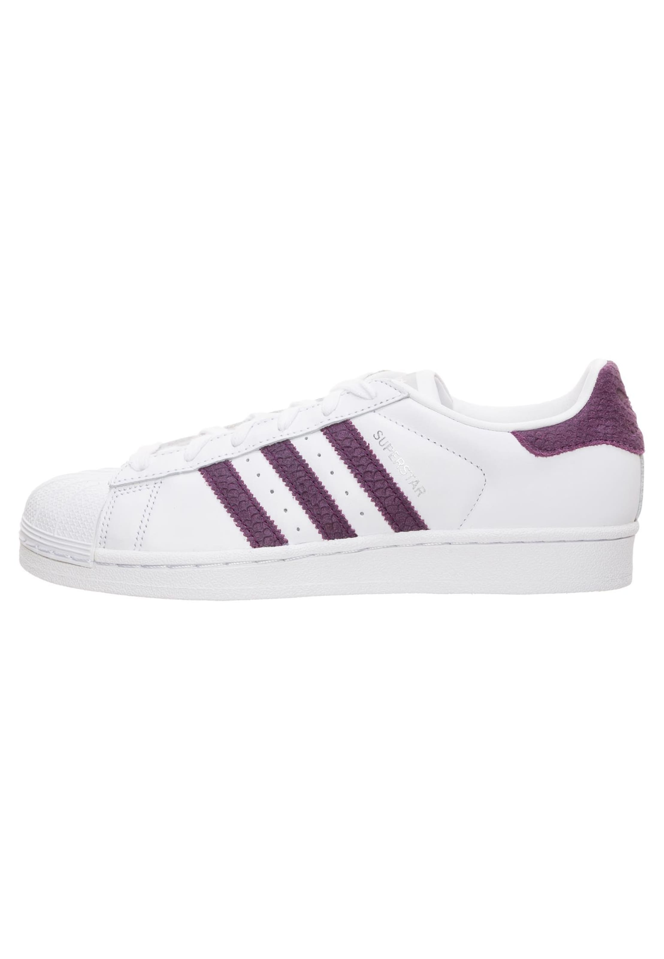 In 'superstar' Adidas Originals Sneaker DunkellilaWeiß jL5Aq43cRS