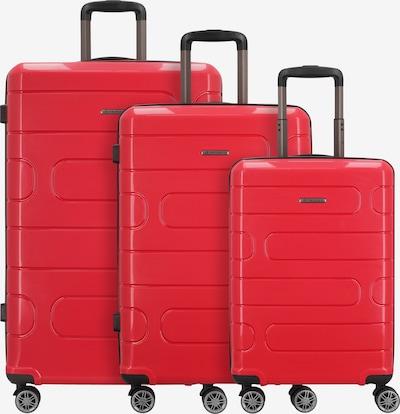 Franky Kofferset in de kleur Rood, Productweergave
