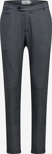 Les Deux Spodnie Como Herringbone Suit Pants w kolorze granatowym yJ42jzBu
