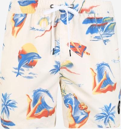 QUIKSILVER Plavecké šortky 'Sun Damage 16' - modrá / červená / bílá, Produkt