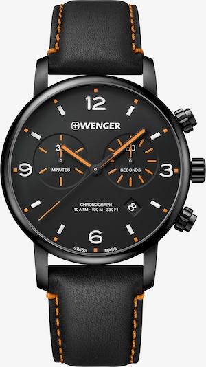 WENGER Analoog horloge 'Urban Metropolitan' in de kleur Sinaasappel / Zwart, Productweergave