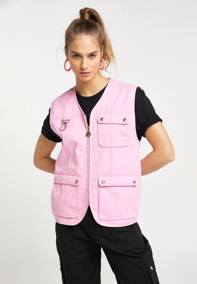 rózsaszín MYMO Mellény, Modell nézet