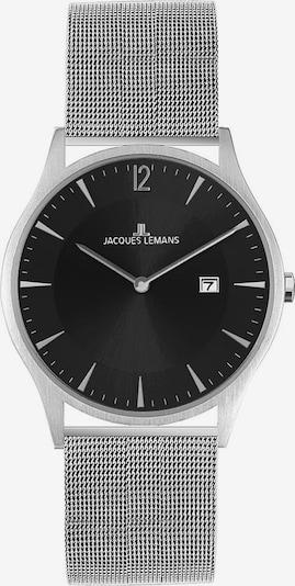 Jacques Lemans Uhr 'Classic, 1-2028D' in schwarz / silber, Produktansicht
