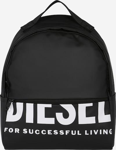 DIESEL Ruksak 'F-Bold FL' u crna / bijela, Pregled proizvoda