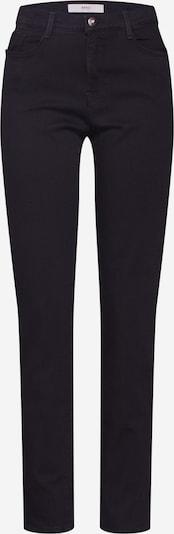 BRAX Jean en noir: Vue de face