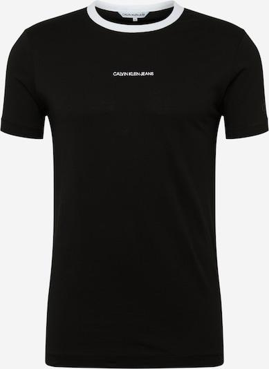 Marškinėliai 'RINGER ' iš Calvin Klein Jeans , spalva - juoda, Prekių apžvalga
