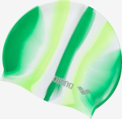 ARENA Badekappe 'Pop Art' in grün / weiß, Produktansicht