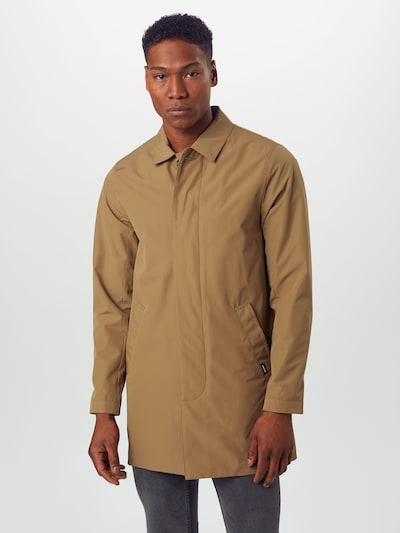 Matinique Mantel 'MAmiles Mac Miles Mac' in khaki: Frontalansicht