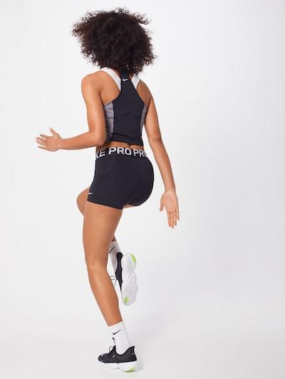 NIKE Sport-Hose 'Nike Pro' in schwarz: Rückansicht