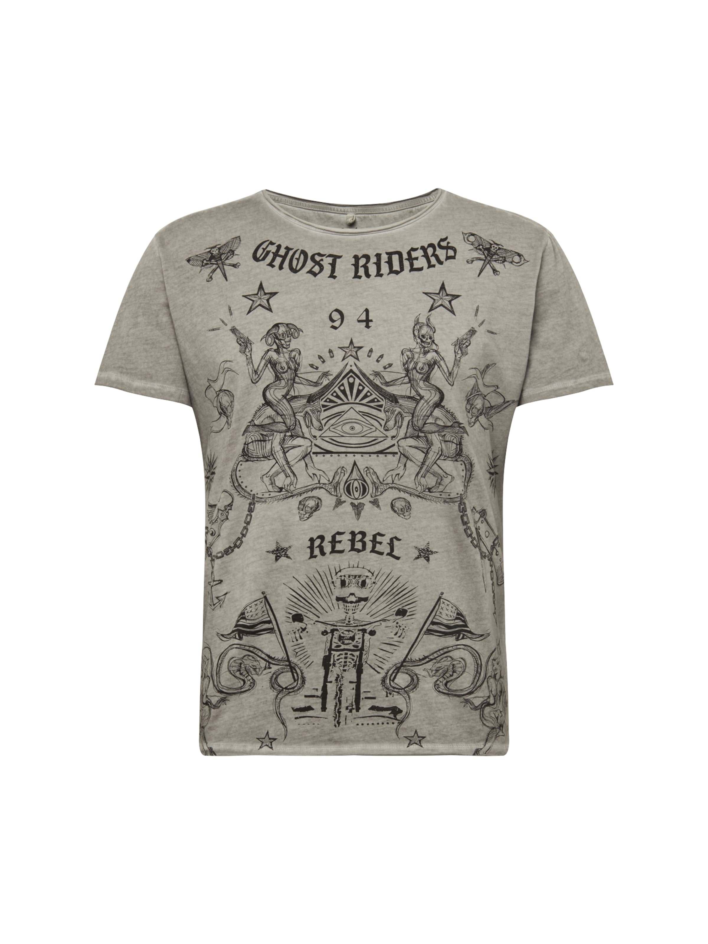 Key 'ghost' Argenté T Gris De Largo En Mélange shirt Couleurs 66pgxR