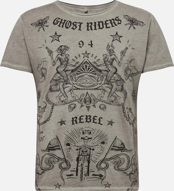 T De ArgentéMélange En Couleurs Largo Key 'ghost' shirt Gris sBCotQhdrx