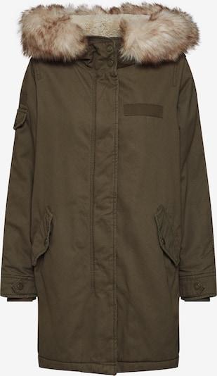 Ilga rudeninė-žieminė striukė 'MAY' iš ONLY , spalva - žalia: Vaizdas iš priekio