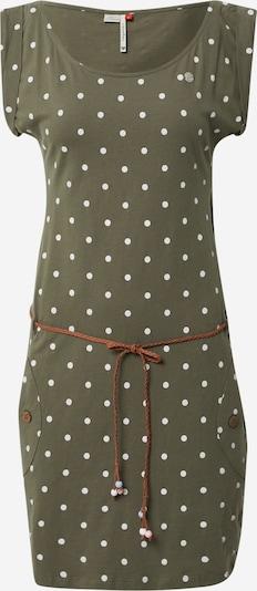 Ragwear Kleid in oliv / dunkelgrün, Produktansicht