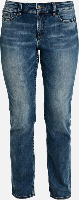 TRIANGLE Jeans in lilatblau  Freizeit, schlank, schlank
