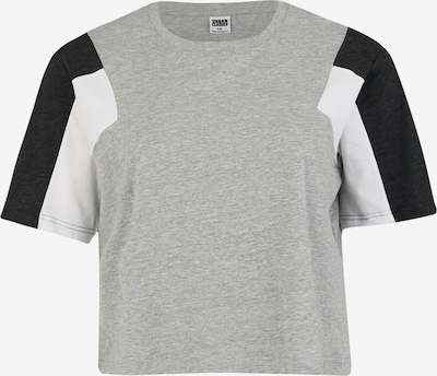 Urban Classics T-shirt en gris / noir / blanc, Vue avec produit