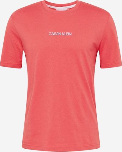 Calvin Klein Majica | dimno modra / melona / bela barva, Prikaz izdelka