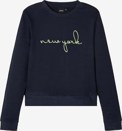 NAME IT Sweatshirt in de kleur Nachtblauw / Limoen, Productweergave