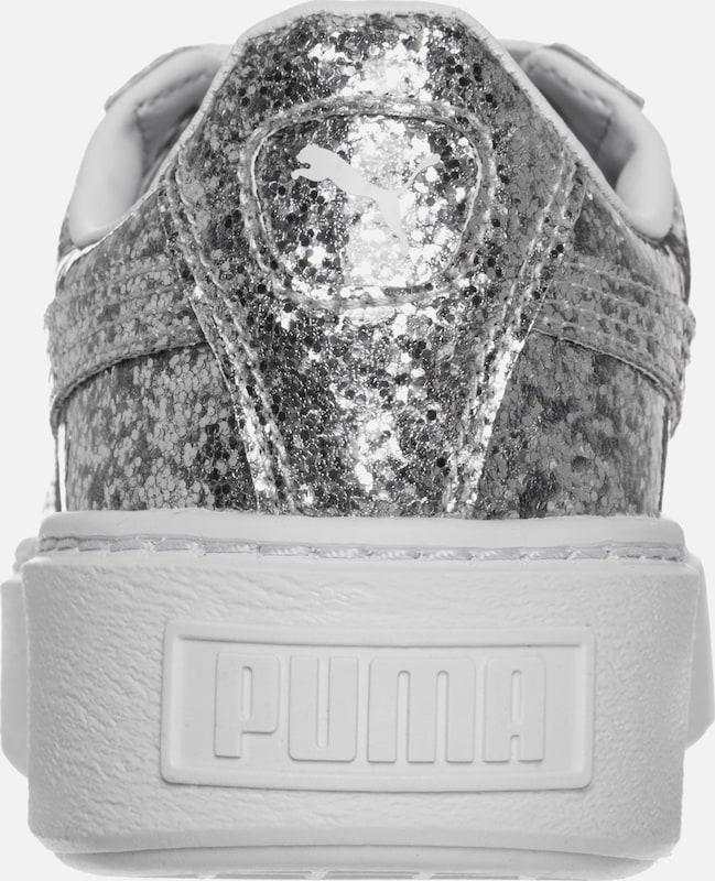 PUMA Basket Platform Sneaker Damen Hohe Qualität