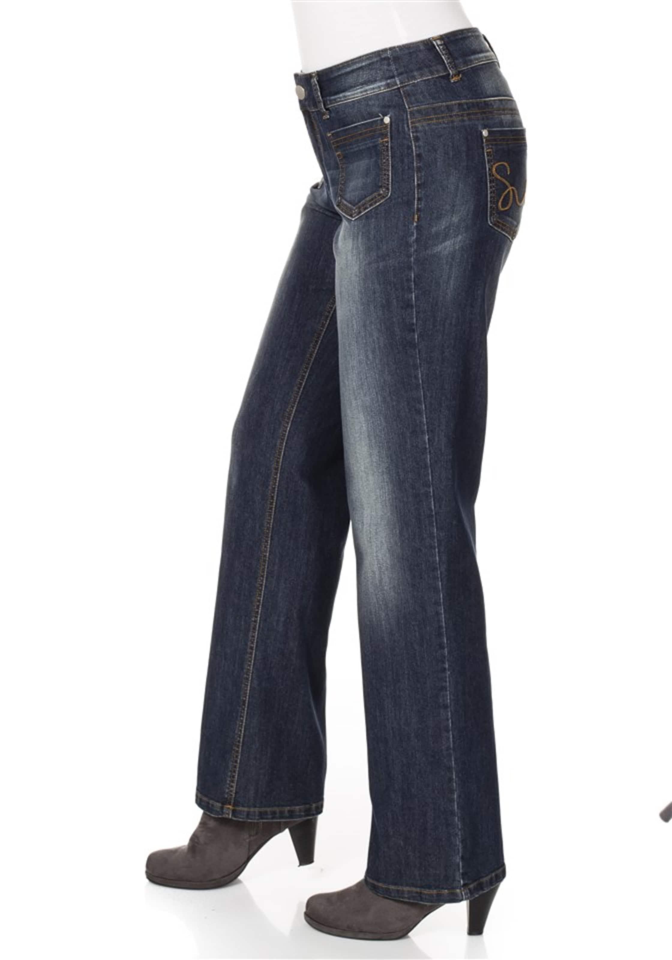 sheego denim Jeans mit weiter Passform Empfehlen jwL6p