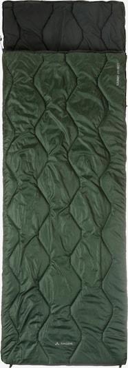 VAUDE 'Kamet 600' Kunstfaserschlafsack in dunkelgrün / schwarz, Produktansicht