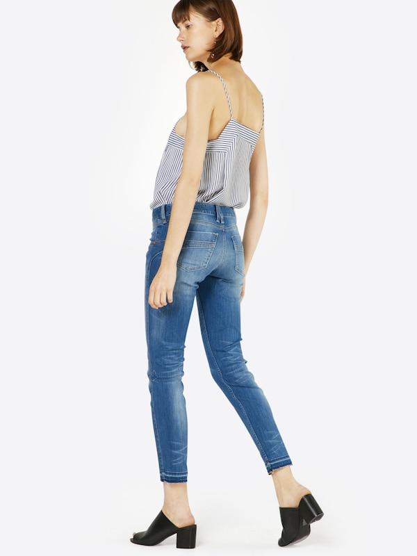 Herrlicher 'Touch Cropped Denim Powerstretch' Slimfit Jeans