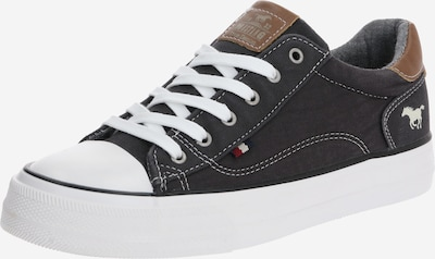 MUSTANG Sneaker in schwarz / weiß, Produktansicht