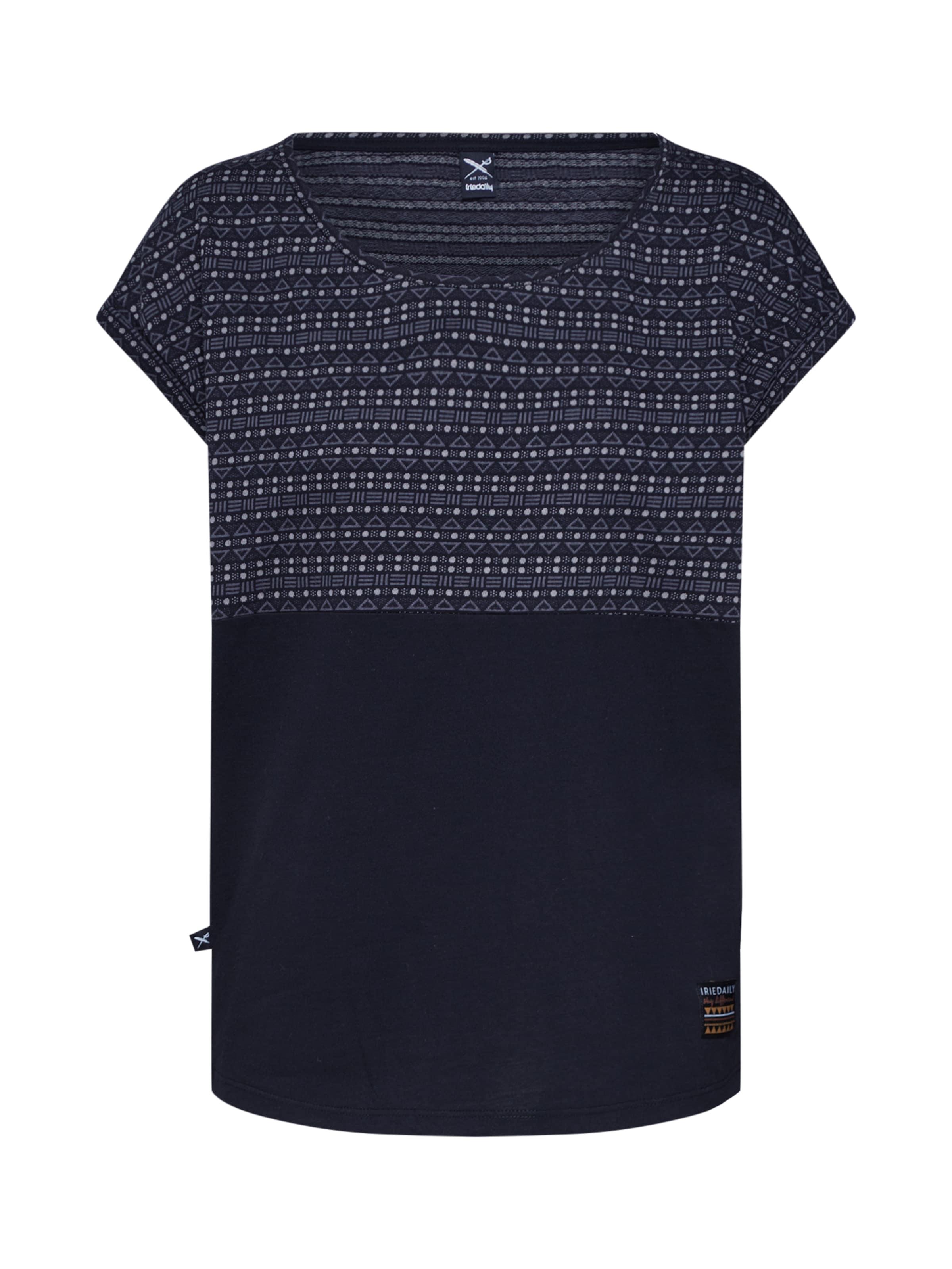 Iriedaily T Nuit En shirt Bleu nNwm8v0