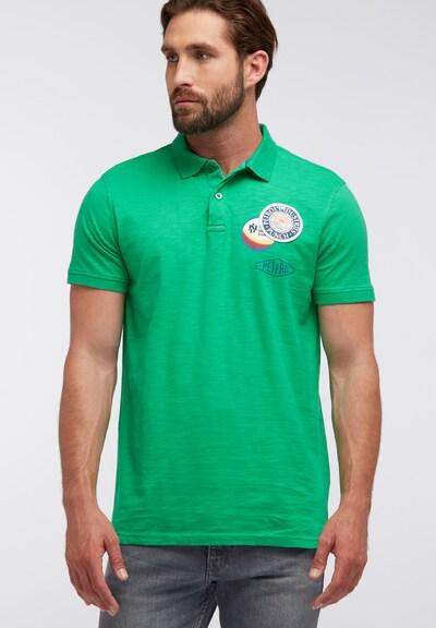 Petrol Industries Shirt in de kleur Groen: Vooraanzicht