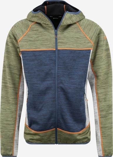 ICEPEAK Sport-Jacke 'BOLOGNA' in dunkelblau / graumeliert / oliv, Produktansicht