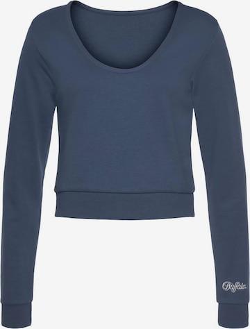BUFFALO Sweatshirt in Blau