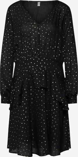 CULTURE Robe 'Maya' en noir / blanc, Vue avec produit