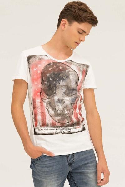 trueprodigy T-Shirt in weiß: Frontalansicht
