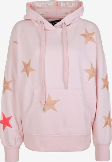PAUL X CLAIRE Hoodie 'COSMOS' in lila, Produktansicht