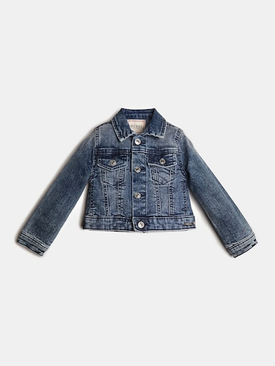 GUESS KIDS Jacke in blue denim, Produktansicht