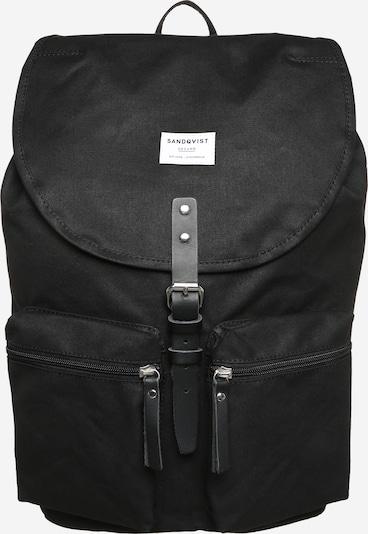 SANDQVIST Rucksack 'Roald Ground' in schwarz, Produktansicht
