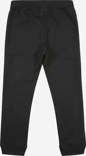 NAME IT Jogginhose 'Brushed' in schwarz: Rückansicht
