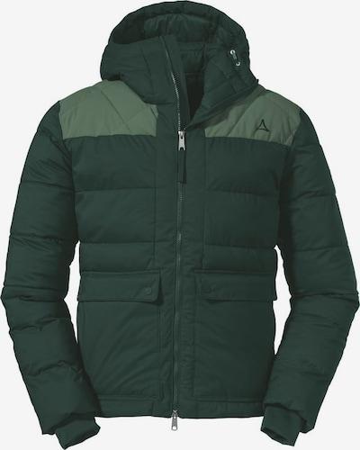 Schöffel Funktionsjacke 'Boston' in hellgrün / dunkelgrün, Produktansicht