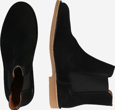 SELECTED HOMME Stiefel in schwarz: Seitenansicht