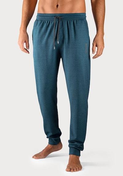 Pantaloncini da pigiama BENCH di colore petrolio, Visualizzazione modelli