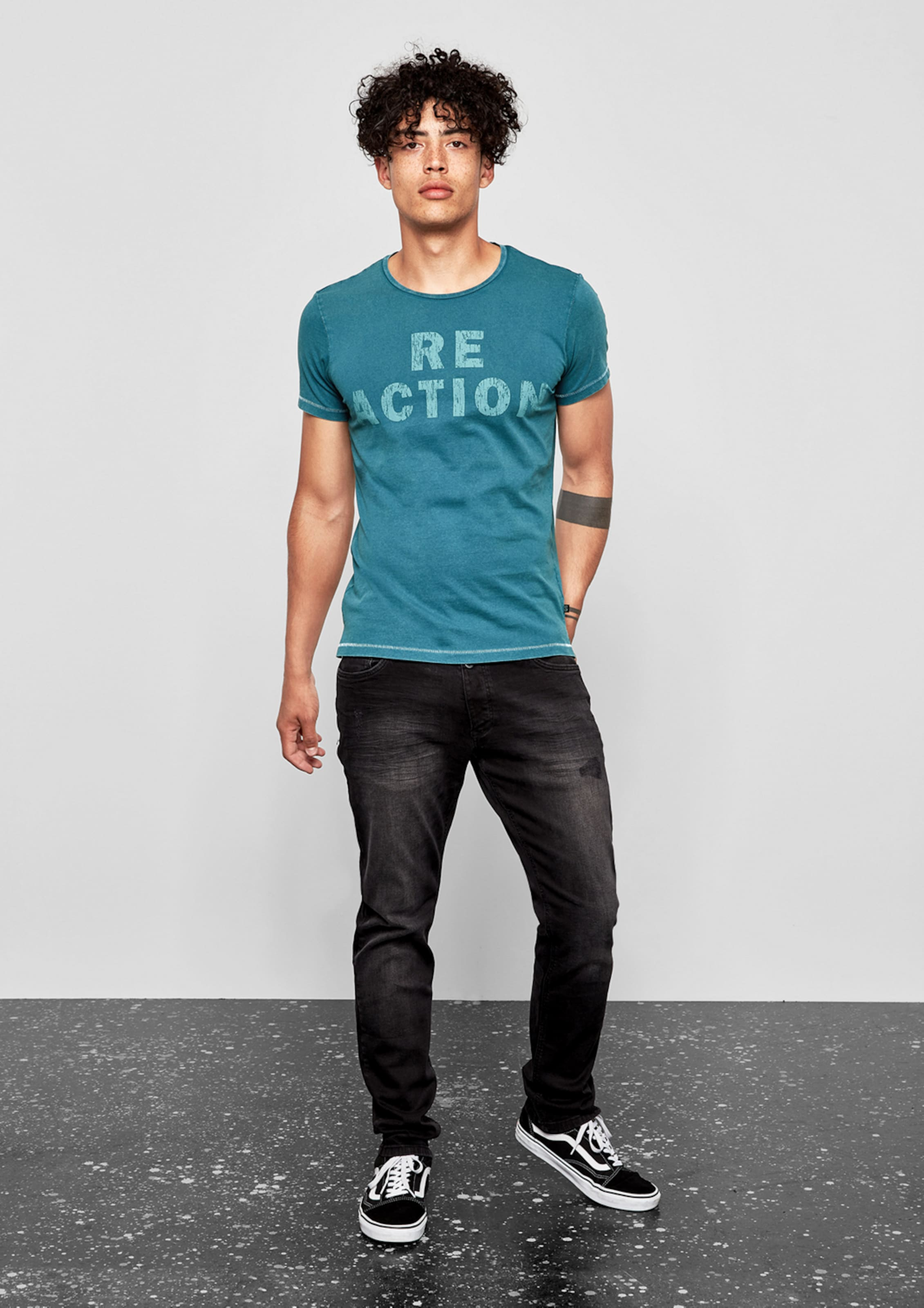 In Designed T shirt Petrol Q s By bfI7v6Ygy