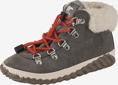SOREL Winterschuhe 'Youth Out 'n About Conquest' in beige / taupe / pastellrot, Produktansicht